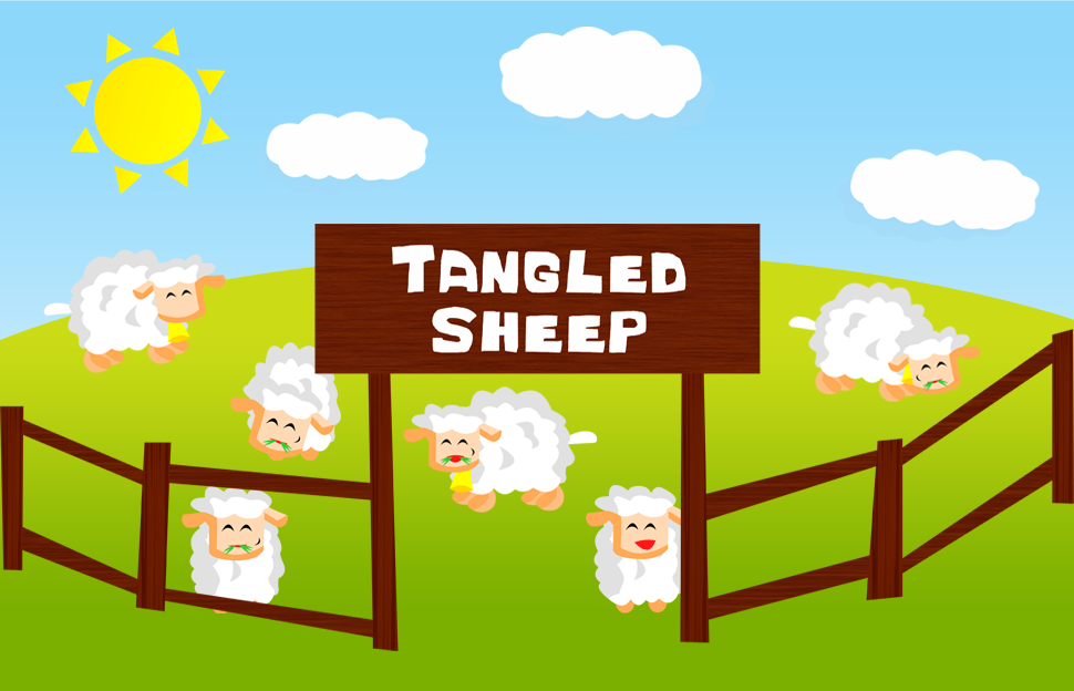 Tangled Sheep